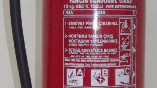 12 KG ABC Yangın Tüpü