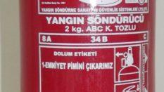 2 KG ABC Yangın Söndürücü