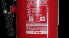 25 Kg Köpüklü Yangın Söndürme Tüpü