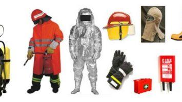 Yangın Söndürme Kıyafetleri